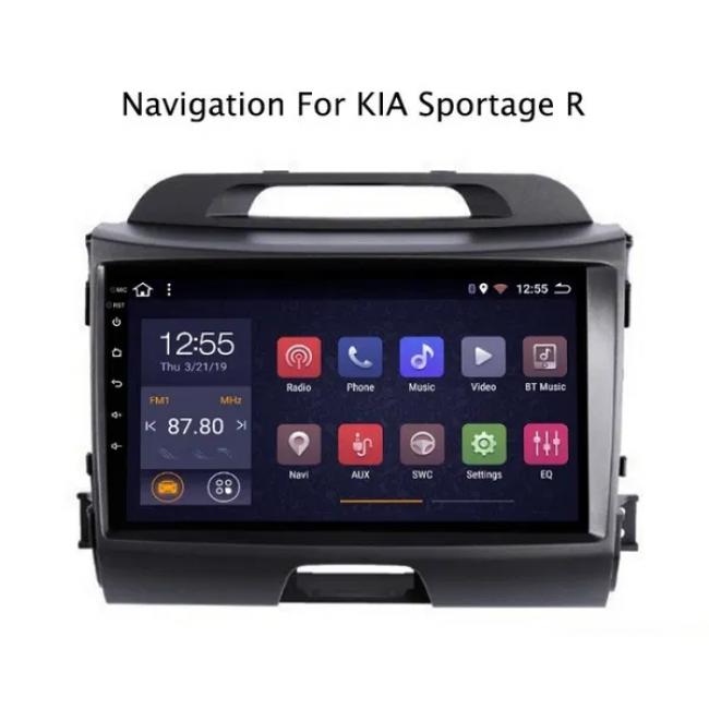 4-ядрена GPS навигация, ATZ за KIA SPORTAGE, Android 9.1, 1GB RAM, 16GB