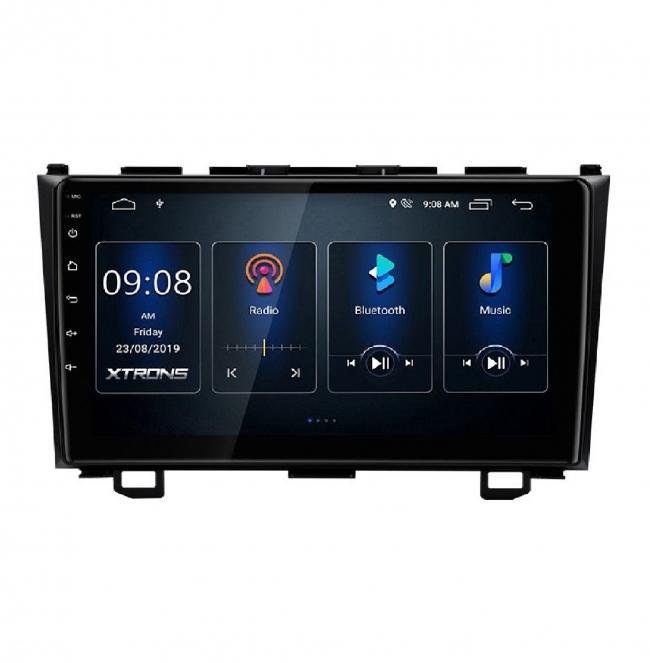 Двоен дин навигация за Honda CRV PST90CVH GPS, ANDROID 10, WiFi, 9 инча