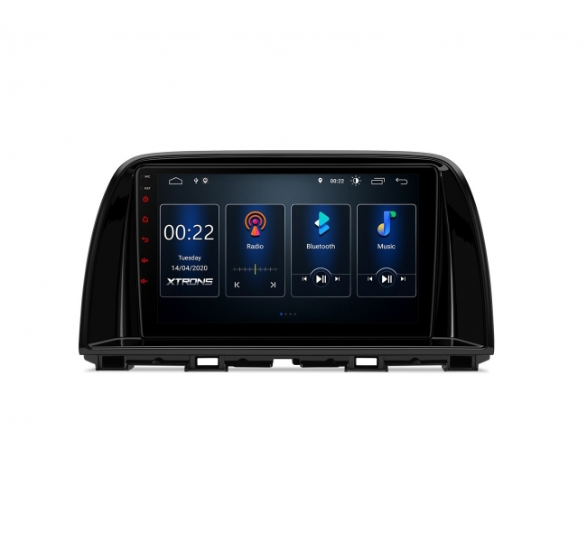 Двоен дин навигация за Mazda PST90CX5M GPS, ANDROID 10, WiFi, 9 инча