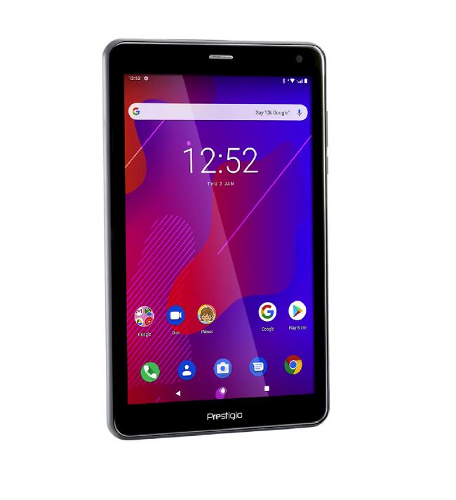 4в1 Таблет Prestigio Q Pro 4G, SIM, Android 9, GPS, DVR, 16GB, 8 инча