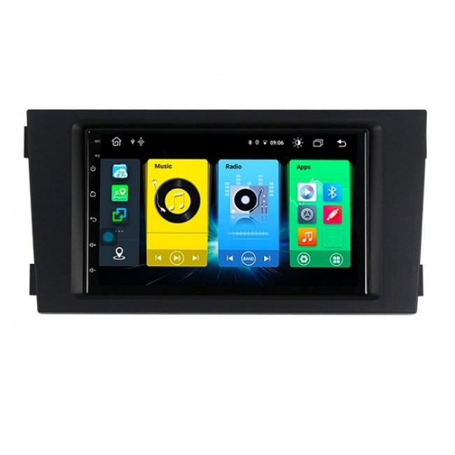 Мултимедия двоен дин  за AUDI A6 (99-04) AU7126H, 7 инча, ANDROID 10, Bluetooth, WiFi