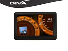 GPS навигация за камион DIVA 4305 FM  - 4.3'' BG+EU