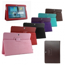 "Цветни Кожени калъфи за таблет Samsung Galaxy Tab 7"" + Писалка"