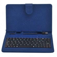 """Калъф с клавиатура за таблет 9"""" - USB - СИН"""
