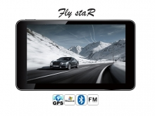 "GPS навигация Fly StaR X10BT SE - 7"" + Bluetooth + 4GB"