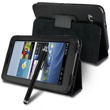 "Кожен калъф за таблет Samsung Galaxy Tab 7"" - Flip Model"