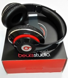 Нов модел! Аудио слушалки Beats by Dre STUDIO HD ( Реплика ) - ЧЕРНИ