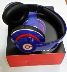 Нов модел! Аудио слушалки Beats by Dre STUDIO HD ( Реплика ) - СИНИ