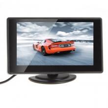 4.3 инча TFT LCD Монитор за камера за задно виждане с 2 видео входа