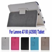 Кожен калъф за таблет Lenovo IdeaTab A3500 A7-50 - 7 инча ПАПКА + ПИСАЛКА