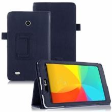Кожен калъф за таблет LG G Pad 7.0 V400 - ПАПКА + ПИСАЛКА