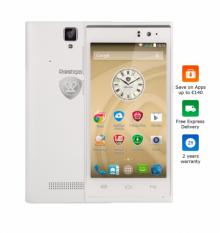 "Смартфон PRESTIGIO MultiPhone PSP5455 DUO WHITE - 4.5"", четириядрен - БЯЛ"