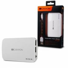 Външна акумулаторна батерия POWER BANK CANYON CNE-CPB78W - 7800mAh
