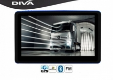 GPS навигация за камиони Diva 5008s BT-AV FM HD 8GB - 5 инча, 800mhz