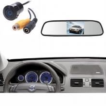 Огледало с вграден 4.3 инчов монитор за задно виждане + КАМЕРА