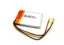 Универсална батерия за GPS навигация за 3.5 - 4.3 инча - 650мah, 3.7V - 3 извода