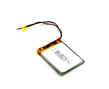 Универсална батерия за GPS навигация за 3.5 - 4.3 инча - 650мah, 3.7V - 2 извода