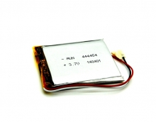 Универсална батерия за GPS навигация 5 инча - 950мah, 3.7V - 3 извода