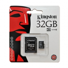 Карта памет Micro SD Kingston 32GB Class 10