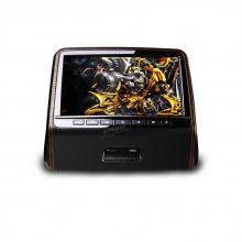 Подглавник за кола HD9PCHBlack 9 инча HD TFT Монитор, HDMI, DVD, USB, SD, Игри