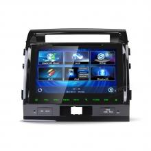 Мултимедия Двоен Дин 9 инча PF10KZT за Toyota Land Cruiser (2008-2013), 1024*600 HD, GPS