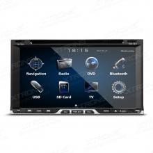 Универсален модел мултимедийна навигация Двоен Дин 6.95 инча TD691GT, DVD, 1080P