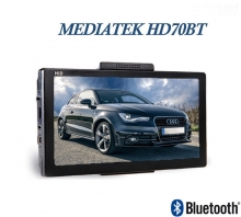 "GPS навигация MEDIATEK HD 70BT – 7"", 256MB RAM, 800MhZ, 8GB"