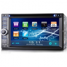 Универсална мултимедия двоен дин ES890G GPS,DVD, WinCE, 6.2 инча