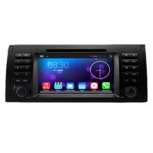 Мултимедия за BMW 5 series E39/E53/M5 8082G-E39, Android, QUAD-CORE, DVD, 7 инча