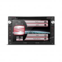 Мултимедия двоен дин за SEAT, PF70MTWS с GPS, DVD, 7 инча