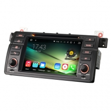 Мултимедия двоен дин ES4046B за BMW E46, M3, GPS, DVD, Android 5, 7 инча