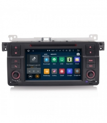 Мултимедия двоен дин ES3062 за BMW E46, M3, ROVER 75, DVD, GPS, WIFI, ANDROID, 7 инча