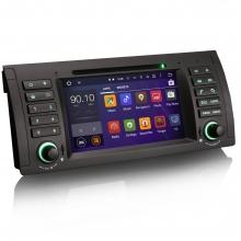Мултимедия двоен дин ES3061B за BMW 5 Серия E39 X5 E53 M5,Android, GPS, DVD, 7 инча