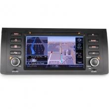 Мултимедия двоен дин ES7153B за BMW 5 Серия E39 E53 M5, GPS, DVD, WinCE, 7 инча