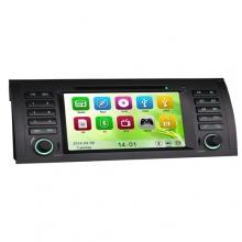Мултимедия двоен дин ES7053B за BMW 5 E39 X5 E53, GPS, DVD, WinCE, 7 инча