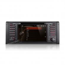 Мултимедия двоен дин PF7139BGTS за BMW 5 Серия X5 с GPS CANBUS, DVD , 7 инча