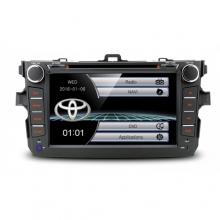 Мултимедия двоен дин за Toyota Corolla 2007-2011, PF81CLTS GPS,WinCE,DVD, 8 инча