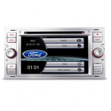 Мултимедия двоен дин за FORD Fiesta, Mondeo, Focus PF70FSFS-S, GPS, DVD, WinCE, 7 инчa