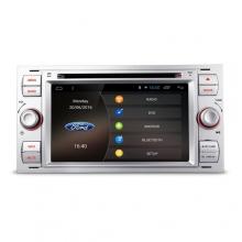 Мултимедия двоен дин за FORD Fiesta, Mondeo, Focus PC70FSFA-S, GPS, DVD, Android, 7 инча