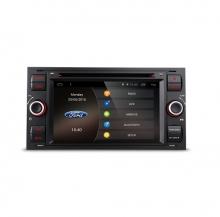 Мултимедия двоен дин за FORD Fiesta, Mondeo, Focus PC70FSFA-B, GPS, DVD, Android, 7 инча