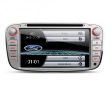 Мултимедия двоен дин за Ford Focus PF71FSFS-S, GPS, DVD, WinCE, 7инча