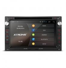 Мултимедия двоен дин за VW PC70MTWA, GPS, DVD, Android, WiFi, 7 инча