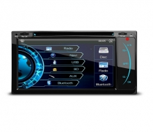 Мултимедия двоен дин за Toyota PF72HGT, WinCE, GPS, DVD, 6.95инча