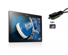 5в1 Таблет Lenovo Tab 2 10.1 инча, 4G, Android 5.1, 16GB, ТЕЛЕВИЗИЯ, DVR, GPS, 2 програми