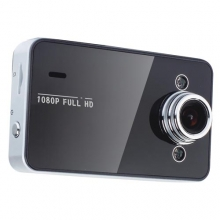 "Видеорегистратор - Камера за кола AT K6000 2.7"" 1080P HD + 16GB карта"
