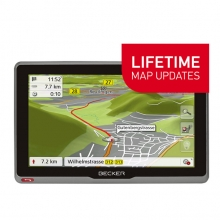 GPS навигация за камион и кемпер BECKER TRANSIT 7sl EU Lifetime