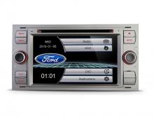 Мултимедия двоен дин за FORD Fiesta, Mondeo, Focus PF70FSFS-G, GPS, DVD, WinCE, 7 инчa