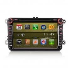 Мултимедия двоен дин ES9711V за VW Passat, Caddy, Golf 5/6, ЦИФРОВА TV, GPS, WinCE, 8 инча