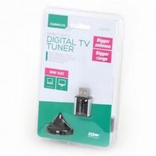 Цифров ТВ Тунер за лаптопи Omega USB DVB-T T300A Nano