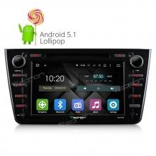 Мултимедия двоен дин Eonon GA5198FV за Mazda 6 GPS, WiFi, Android,DVD, 8 инча